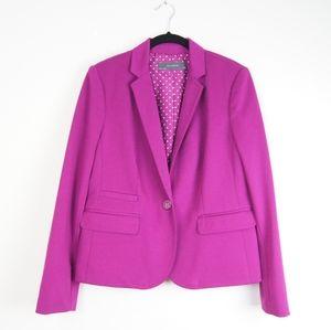 The Limited   Purple Blazer   Petite Large